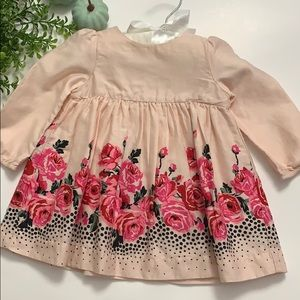 Baby Gap Rose and Peach Dress